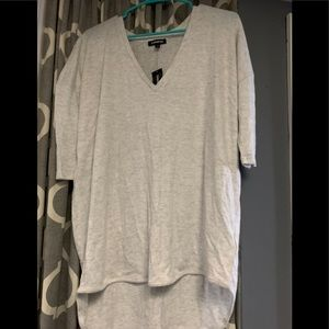 Express loose fitting sweater